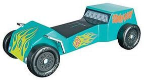 Revell-Monogram Scooby-Doo Dune Buggy Racer Series Kit Pinewood Derby Car #y9402