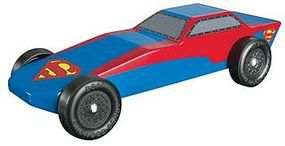 Revell-Monogram Superman Sports Car Racer Series Kit Pinewood Derby Car #y9404