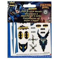 Revell-Monogram Batman Peel & Stick Decal Sheet Pinewood Derby Decal and Finishing #y9405