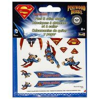 Revell-Monogram Superman Peel & Stick Decal Sheet Pinewood Derby Decal and Finishing #y9406