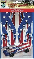 Revell-Monogram Patriot Car Wrap Decal Pinewood Derby Decal and Finishing #y9423