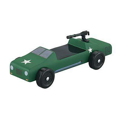 Revell-Monogram Military Buggy Starter Series Kit -- Pinewood Derby Car -- #y9443