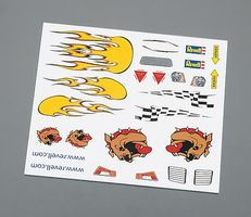 Revell-Monogram Dry Transfer Decal B Pinewood Derby Decal and Finishing #y9620