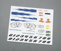 Revell-Monogram Dry Transfer Decal D Pinewood Derby Decal and Finishing #y9623