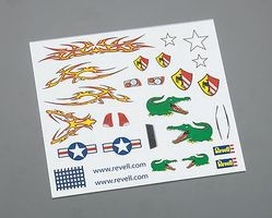 Revell-Monogram Dry Transfer Decal E Pinewood Derby Decal and Finishing #y9624