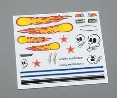 Revell-Monogram Peel & Stick Decal C Pinewood Derby Decal and Finishing #y9629