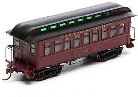 Roundhouse HO RTR 34 Old Time Overton Coach, CPR #98