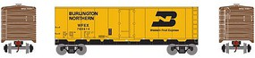 Roundhouse HO 40 Steel Reefer, BN/WFE #704614