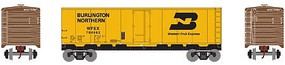 HO 40' Steel Reefer, BN/WFE #704662