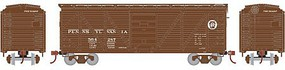 Roundhouse HO 40' Single Sheathed Box, PRR #564287