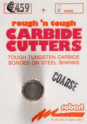 Carbide Cutter Coarse