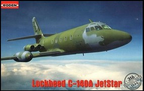 Roden 1/144 C140A Jetstar Personnel Transport Aircraft