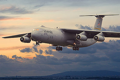 Roden Model Aircrafts Lockheed C-141B Starlifter -- Plastic Model Airplane Kit -- 1/144 Scale -- #325