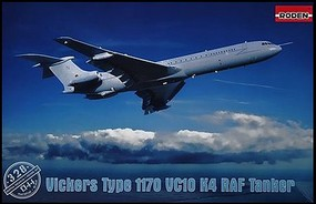 Roden 1/144 Vickers VC10 K4 Type 1170 RAF Tanker Aircraft