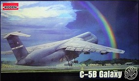 Roden C-5B Galaxy Military Transport Aircraft Plastic Model Airplane Kit 1/144 Scale #33