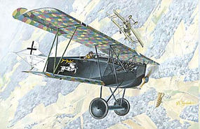 Roden 1/72 Fokker D VIIF Alb (Early) WWI German Biplane Fighter