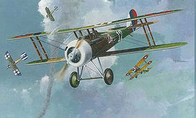 Roden 1/48 Nieuport 28c1 WWI French BiPlane Fighter