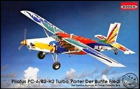 Roden Pilatus PC6B1/H2 Turbo-Porter Austrian AF Plastic Model Airplane Kit 1/48 #444