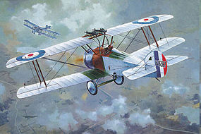 Roden 1/72 Sopwith F1/3 Comic Special Version WWII British BiPlane Fighter