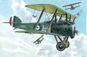 Roden 1/72 Sopwith F1 Camel WWI British BiPlane Fighter w/Bentley Engine
