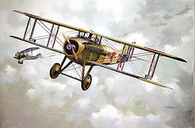 Roden Spad VII CI Early WWI Main French BiPlane Fighter Plastic Model Airplane Kit 1/32 #604