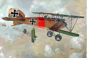 Roden 1/32 Albatros D III WWI German BiPlane Fighter