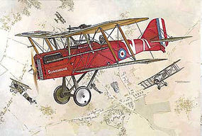 Roden 1/32 SE5a WWI RAF BiPlane Fighter