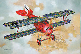Roden 1/32 Siemens Schuckert D III Late Production WWI German BiPlane Fighter