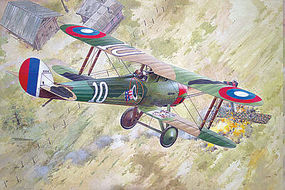 Roden 1/32 Nieuport 28c1 WWI French BiPlane Fighter