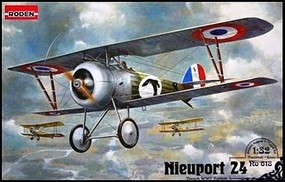Roden 1/32 Nieuport 24 WWI RAF BiPlane Fighter