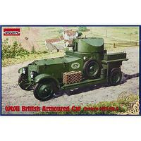 Roden British Armoured Car Pattern 1920 Mk.I Plastic Model Military Vehicle Kit 1/72 Scale #731