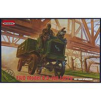 Roden FWD Model B 3-Ton Lorry Plastic Model Military Vehicle Kit 1/72 Scale #733