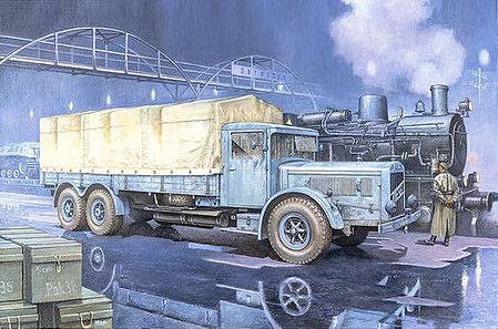 Roden 1/72 Vomag 8 LR Lkw WWII German Military Truck (New Tool) (AUG)