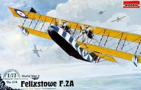 Roden Felixstowe F.2A Late Plastic Model Airplane Kit 1/72 Scale #rd0014