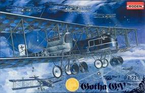 Roden Gotha G.V WW-I Bomber Plastic Model Airplane Kit 1/72 Scale #rd0016