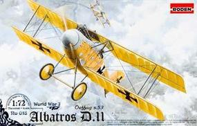 Roden Albatros D.II Plastic Model Airplane Kit 1/72 Scale #rd0018