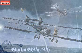 Roden Gotha G.VA/G.VB Plastic Model Airplane Kit 1/72 Scale #rd0020
