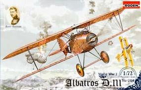 Roden Albatros S.153 Early Plastic Model Airplane Kit 1/72 Scale #rd0024
