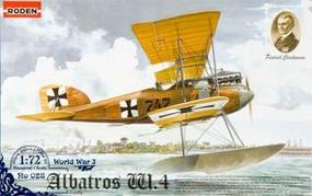 Roden Albatros W.4 Early Plastic Model Airplane Kit 1/72 Scale #rd0028