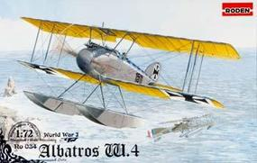 Roden Albatros W.4 Late Plastic Model Airplane Kit 1/72 Scale #rd0034