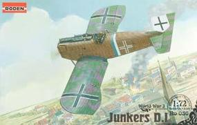 Roden Junkers D.I Late Plastic Model Airplane Kit 1/72 Scale #rd0036