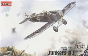 Roden Junkers D.I Plastic Model Airplane Kit 1/72 Scale #rd0041