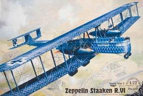 Roden Zeppelin Staaken R.VI Plastic Model Airplane Kit 1/72 Scale #rd0050