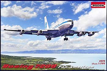 Roden Boeing 720B Plastic Model Airplane Kit 1/144 Scale #rd0319