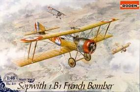 Roden Sopwith 1.B1 French Bomber Plastic Model Airplane Kit 1/48 Scale #rd0411
