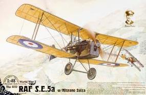 Roden SE5A RAF with Hispano Suiza Plastic Model Airplane Kit 1/48 Scale #rd0419