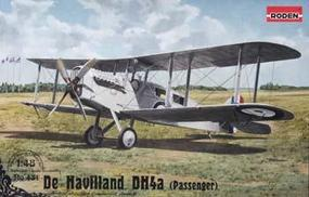 Roden De Havilland DH4a Passenger Plastic Model Airplane Kit - 1/48 Scale #rd0431