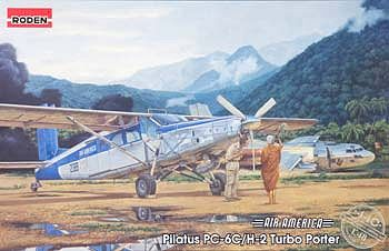 Roden Model Aircrafts Pilatus PC-6C/H-2 Turbo Porter -- Plastic Model Airplane Kit -- 1/48 Scale -- #rd0440
