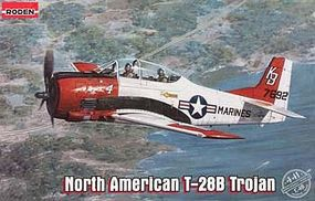 Roden North American T-28B Trojan Plastic Model Airplane Kit 1/48 Scale #rd0441