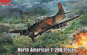 Roden North American T-28D Trojan Plastic Model Airplane Kit 1/48 Scale #rd0450